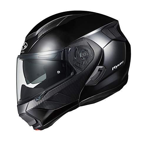 オージーケーカブト(OGK KABUTO)バイクヘルメット システム RYUKI ブラックメタリック (サイズ:M)