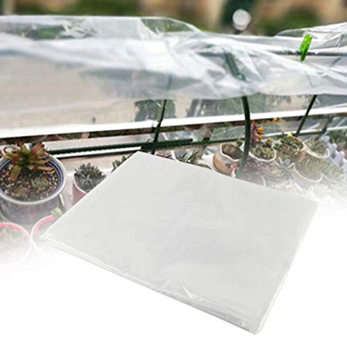4 års klar växthusfilm 150 mikron tjocklek, kraftig polyetentäckande plast för odlingsrum och växthus, UV-resistent, 2 * 2m/3 * 6m(3 * 6m)