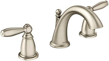 Moen T6620BN Brantford Two-Handle 8 in. Widespread Bathroom Faucet
