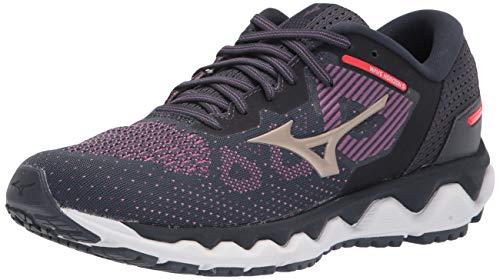 Mizuno Women's Running Shoe, Violet-Platinum Gold, 10.5