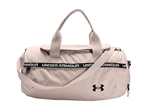 Under Armour Women's Undeniable Signature Duffle Bag , Desert Rose (679)/Black , One Size Fits All