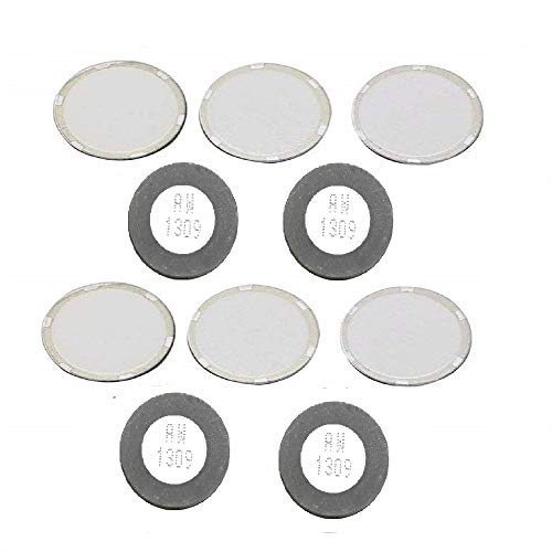 Chironal 10pcs 20mm Ultrasonic Mist Maker Fogger Ceramics Discs for Humidifier Parts
