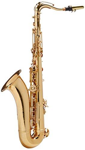 Roy Benson RB700670 - Saxofón tenor en Sib TS-302, latón, estuche ligero rectangular