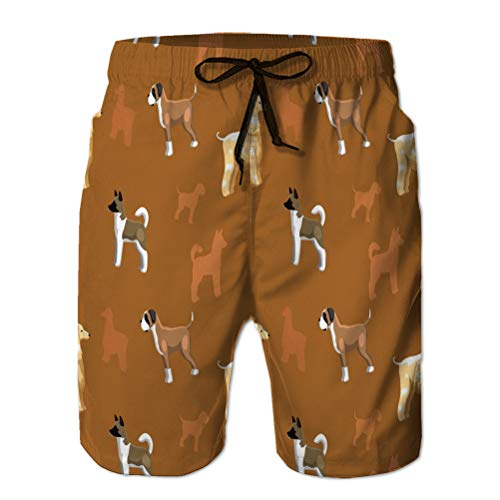 67 Boardshorts Mens Swimtrunks Fashion Beach Shorts Perro Wallpaper Animal eps Archivo f M