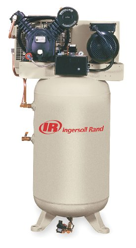 Ingersoll-Rand, 2475N5-P-230, Electric Air Compressor, 2 Stage, 16.8 cfm