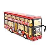 Lihgfw Boy Legierungsbus Spielzeug Doppeldecker Bus Große Zug zurück Simulation Auto Modell Baby...
