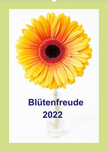 Blütenfreude (Wandkalender 2022 DIN A2 hoch)