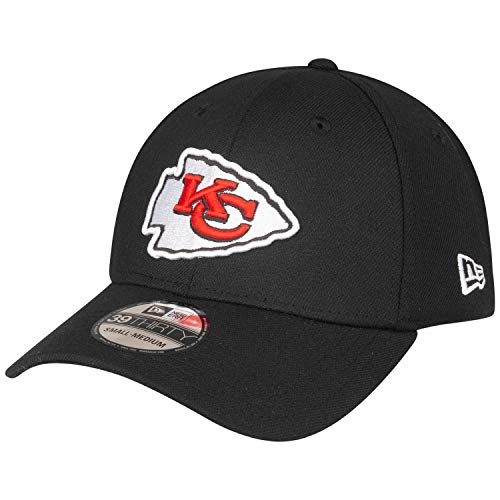 New Era 39Thirty Cap - Kansas City Chiefs schwarz - L/XL