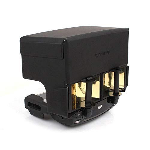 Linghuang Antennen Signalverstärker mit Sonnenhaube für DJI Mavic Mini / Mavic Air / Mavic Pro / Spark / Platinum (Gold)