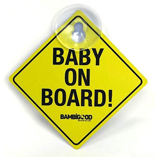 BAMBIGOOD® Baby on Board de seguridad para niños de...