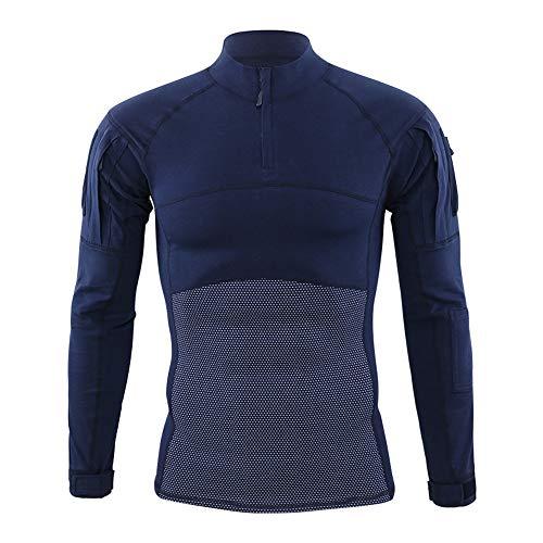 Maillot de ciclismo para hombre de manga completa, ropa de entrenamiento al...