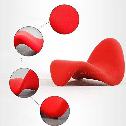 Haushaltsprodukte Klapptisch Hocker Lounge Chair Lesebuch Balkon 5 Farben Optionale Schreibtische (Farbe: Rot)