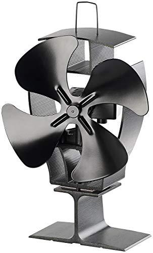 Carlo Milano apilar Aficionados: Ventilador de Estufa sin Electricidad con oscilación de 40 °, para 70-350 ° C (Ventilador Horno)