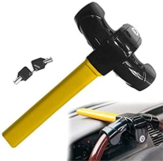 $29 » Steering Wheel Lock for Cars Universal Security Anti Theft Heavy Duty Car Steering Wheel Lock Auto Security Travel Locking