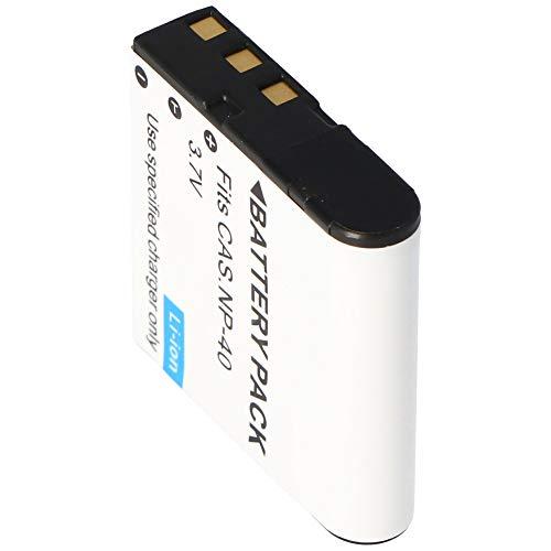 AccuCell - Batteria per Casio NP-40, Exilim EX-Z, Pro EX-P
