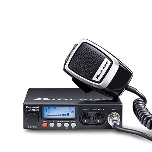 Midland Alan78 Pro, CB Funk C423.16 CB-Funkgerät