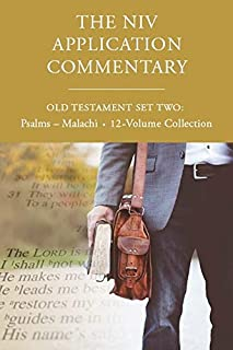 The NIV Application Commentary, Old Testament Set Two: Psalms-Malachi, 12-Volume Collection (0310118255) | Amazon price tracker / tracking, Amazon price history charts, Amazon price watches, Amazon price drop alerts