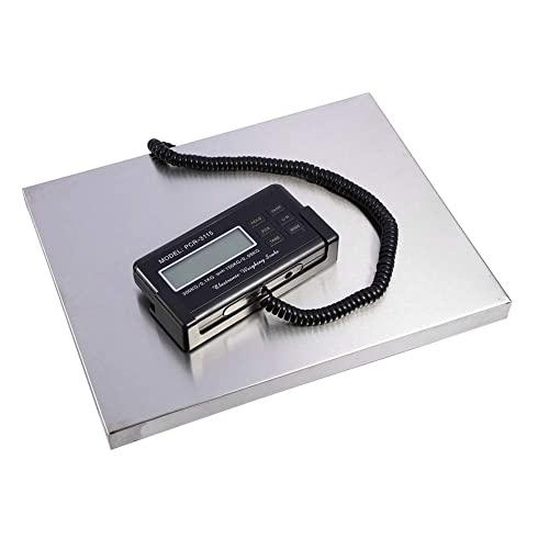EBTOOLS Balance Postale Numérique, Pèse-Colis Balance de Poste Digitale Balance Professionnelle 150kg / 300kg Balance Postale avec Ecran Externe Pratique pour Industriels Bureau de Poste