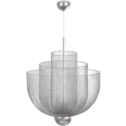 Lámparas de araña de malla lámparas de dormitorio