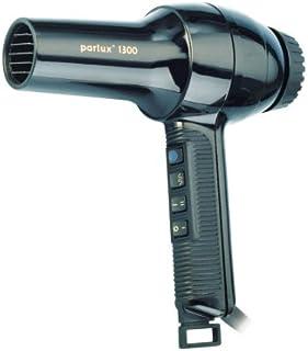 Parlux Secador de pelo de 1300 W, color negro