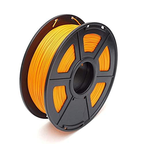 PLA Plus Filament 1,75mm 3D-Druckerfilament 1kg Unglaublich hohe Zähigkeitsdimensionsgenauigkeit +/- 0,02 mm-Orange