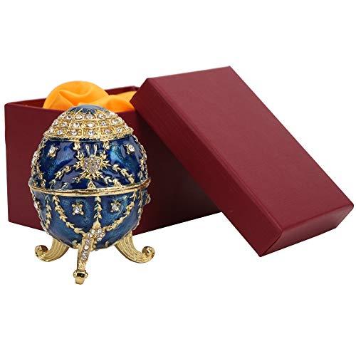Huevo De Pascua Que Adorna Los Huevos De Pascua Esmaltados, Joyero, Escritorio Para El Regalo Del Hogar De La Oficina