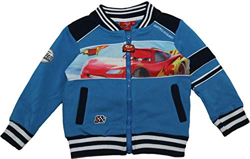 Disney Cars Boys McQueen College Jacket - 116 - 5/6 - Blue