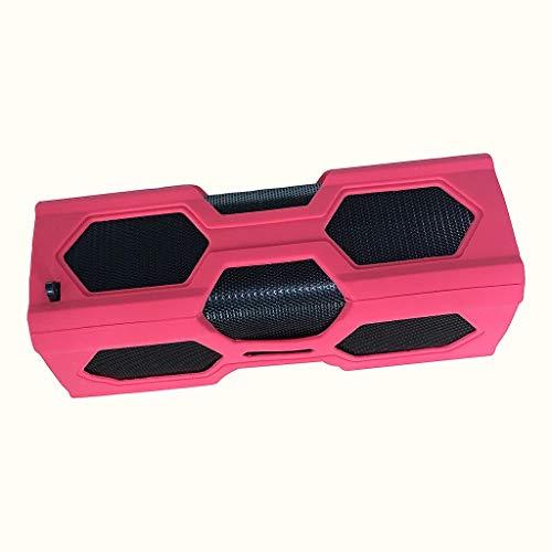 DKee. BT 4.2 drahtloser tragbarer mobiler Stromversorgung Subwoofer-Lautsprecher wasserdicht Subwoofer NFC 3D-Stereo-Surround-Sound-Musiklautsprecher for Telefon PC