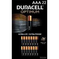 22-Count Duracell Optimum Alkaline AAA Batteries