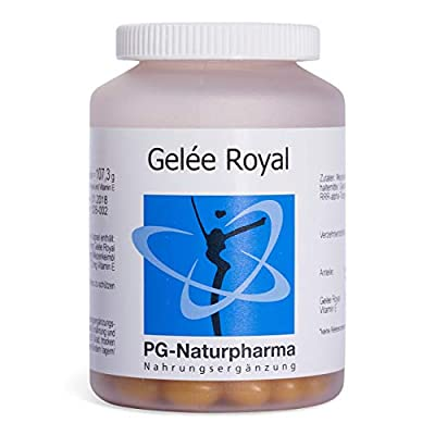 Royal Jelly, 150 Royal Jelly Capsules (333mg) with Vitamin E - Royal Gellee softgels - Made in Germany