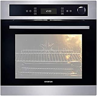 Horno ELECTRICO A Vapor INFINITON (40/70L, Eléctrico, Integrado, Display LED) (INOX/Negro, 60CM)