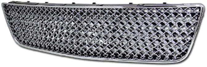 R&L Racing Chrome Front Grill 2006-2009 for Chevy Impala port Mesh Lower Bumper Grille Cover