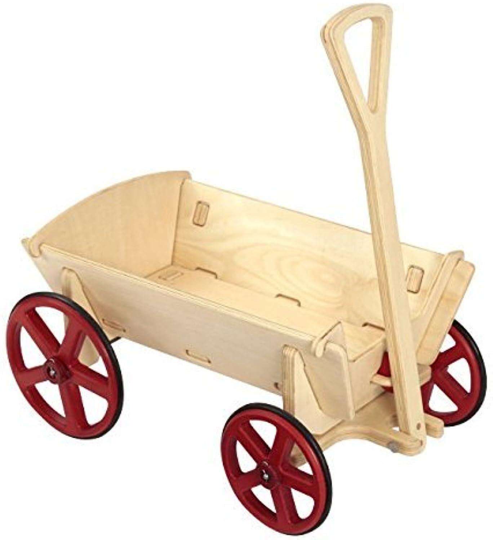 Moover Toys Bollerwagen natur - zerlegbar - speziell für Kinder konzipiert