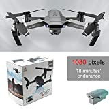 Acutty SG907 Foldable RC Drones with 4K/1080P HD Dual Camera Optical Flow Positioning GPS 5G WiFi RC Quadcopter