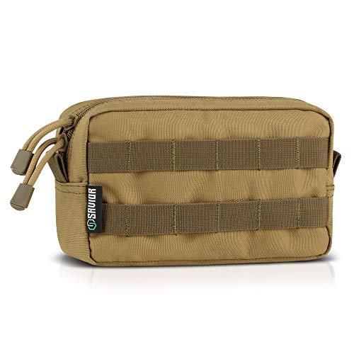 Savior Equipment Horizontale Mehrzweck-Tasche mit MOLLE-EDC-Tasche, vielseitiges Werkzeug