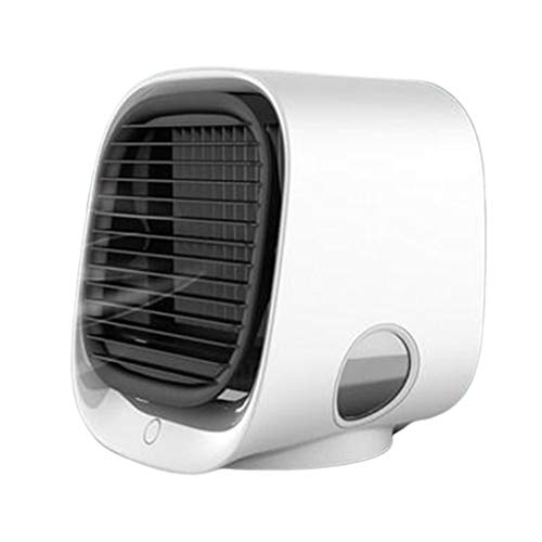 XWZ Mini Ventilador Enfriador De Aire Acondicionador De Aire Acondicionado con Luz Nocturna 300 Ml USB Humidificación Portátil Enfriador De Aire De Escritorio