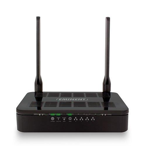 Eminent Em4710 Ac1200 Draadloze Dubbelband Gigabit Router, Zwart