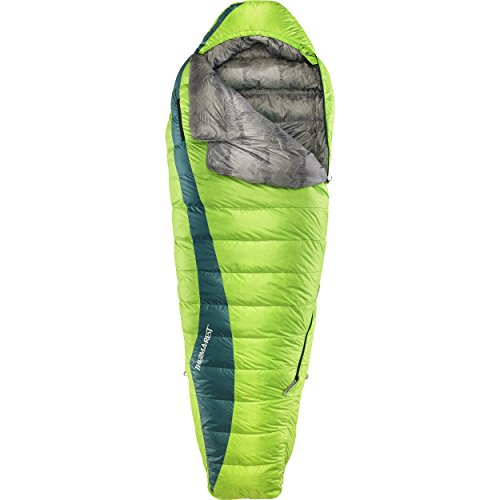 Therm-a-Rest Questar 20-Degree Lightweight Down Mummy Sleeping Bag (2019 Model), Small