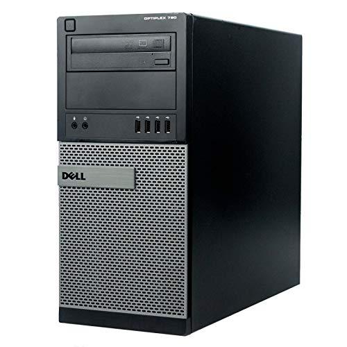 Dell Pack x10 PC Tower 790 MT Intel i3-2120 RAM 4GB Disk 250GB Windows 10 WiFi (Refurbished)