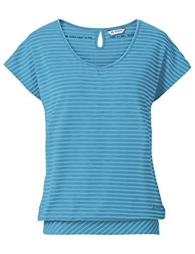 VAUDE Damen T-shirt Skomer II, crystal blue, 42, 403859800420