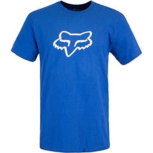 Fox Legacy T-Shirt Herren (S, Blue/White)