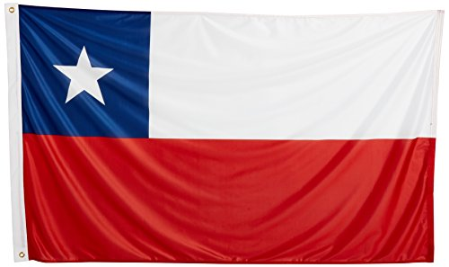 Chili Drapeau 3 ft Polyester 91 x 152,4 cm coupe du monde drapeau Supporter
