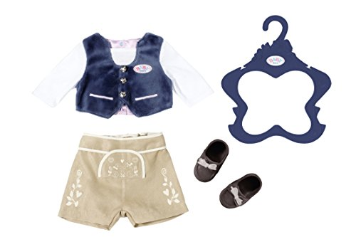 BABY Born 824511 Trachten-Outfit Junge, bunt