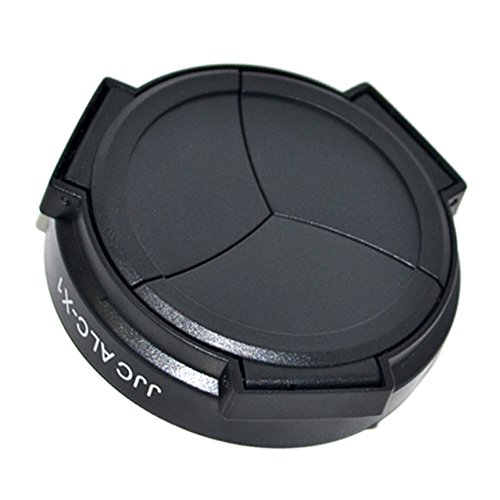 JJC ALC-X100(B) Professional Self-Retaining Black Auto Open Close Auto Lens Cap For FUJIFILM FINEPIX X100 X100S