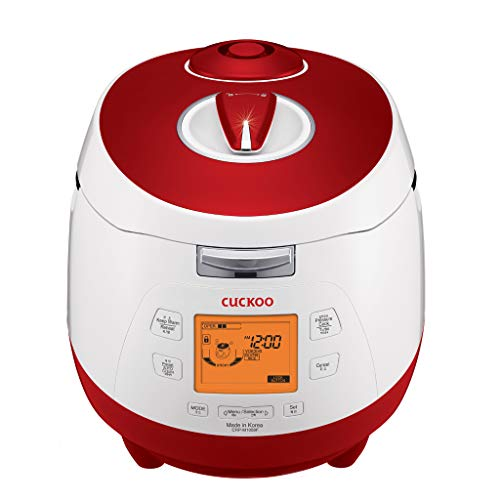 "Cuckoo CRP-M1059F Digital steam Pressure Rice Cooker (1.8l / 1150W / 240V) with""Fuzzy Logic"" Technology – Rice for up to 10 People/External Adapter Needed"