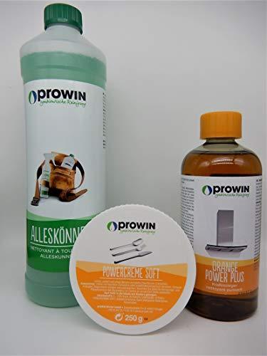 proWIN Set ALLESKÖNNER 1L + POWERCREME + ORANGE Power Plus 0,5 L