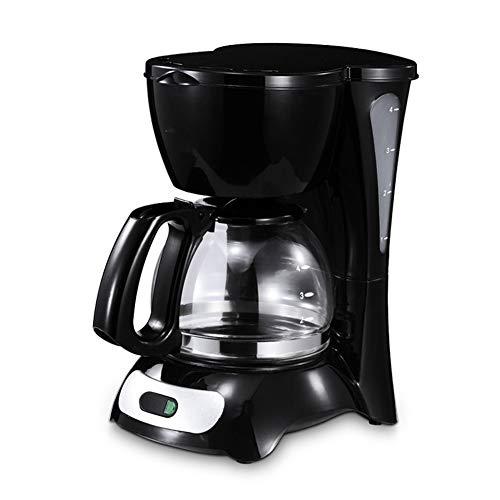 Máquina de café de filtro, cafetera programable de 600 ml con función antigoteo, 650 W, negro