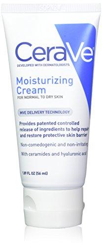 CeraVe Moisturizing Cream 1.89 oz (Pack of 2)