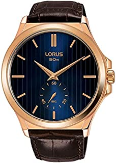 Lorus Dress Watch For Men Analog Leather - RN430AX9