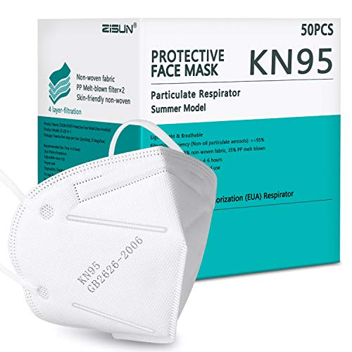 50 Pack of Summer Model KN95 Face Masks Only $19.99